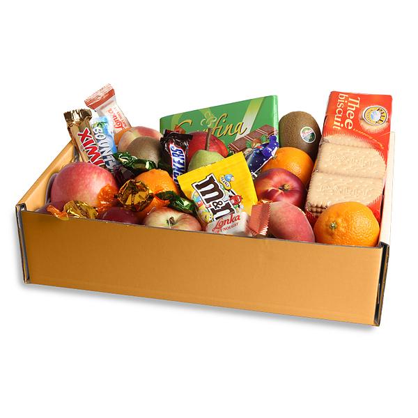 Fruitbox met snoep bestellen
