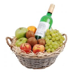 Fruitmand mixed Witte wijn
